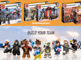 LEGO Overwatch sets onthuld op BlizzCon
