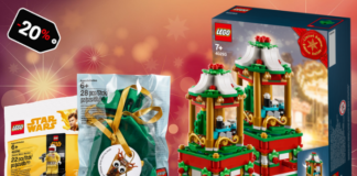 LEGO Shop promoties december 2018