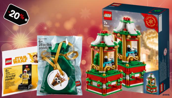 LEGO Shop promoties december 2018