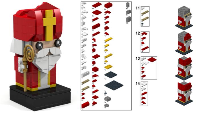 LEGO Sinterklaas BrickHeadz