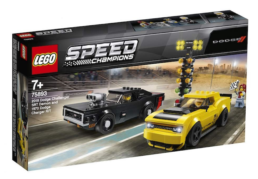 LEGO Speed Champions 75893 Dodge Challenger & Dodge Charger