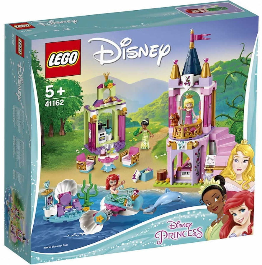 LEGO disney 41162 Ariel, Aurora & Tiana's Royal Celebration