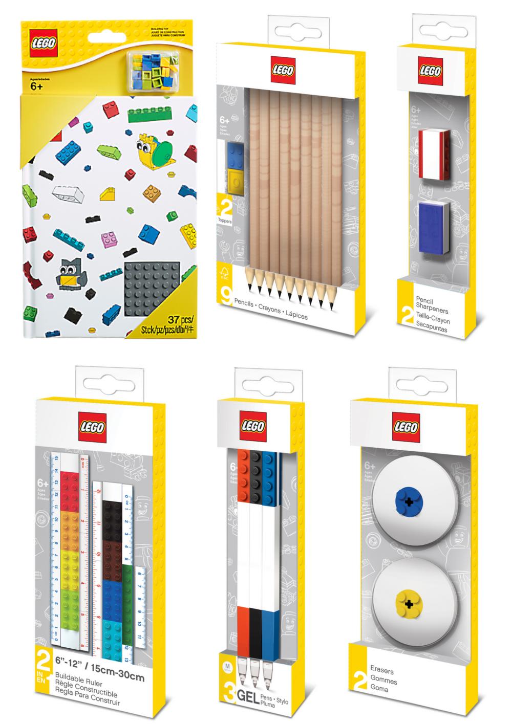 LEGO schrijfwaren