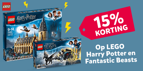 Korting LEGO Harry Potter