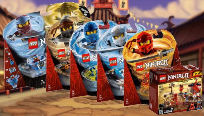 Nieuwe visuals LEGO Ninjago 2019