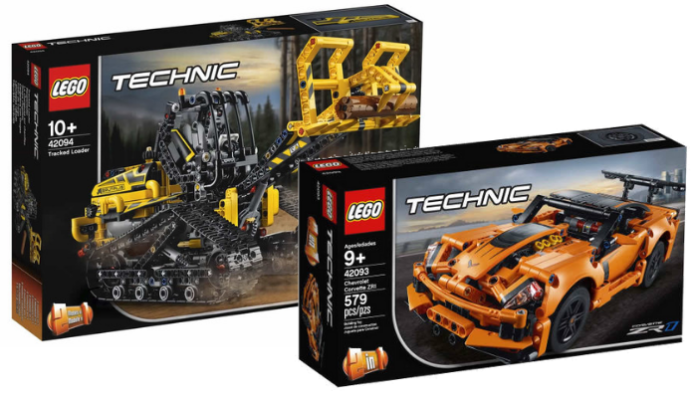 Nieuwe visuals LEGO Technic 2019