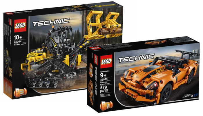 nieuws nieuwe visuals lego technic 2019 sets verschenen. Black Bedroom Furniture Sets. Home Design Ideas
