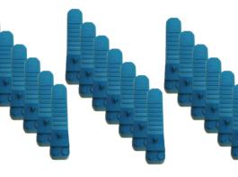 Teal Brick Separators