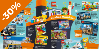 Tot 30% korting op LEGO