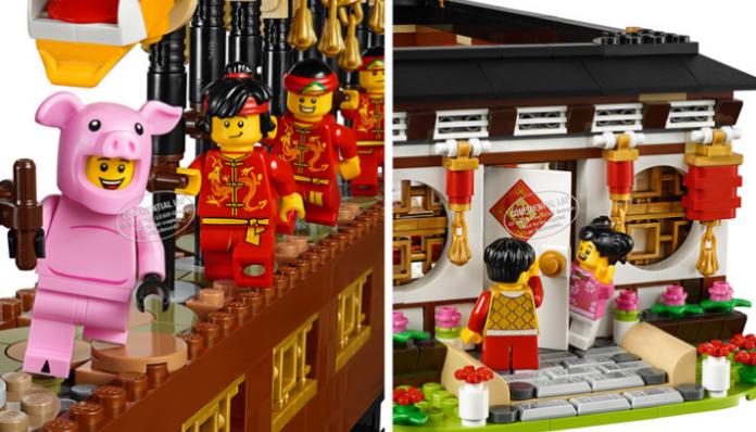 Twee exclusieve LEGO sets voor China