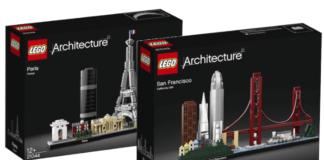 Visuals LEGO Architecture sets winter 2019