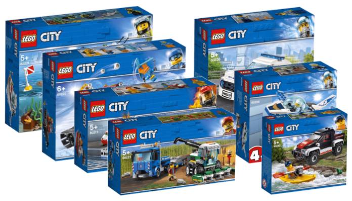 Nieuws] Visuals LEGO City 2019 - Bouwsteentjes info