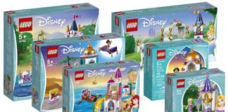 Visuals LEGO Disney sets winter 2019