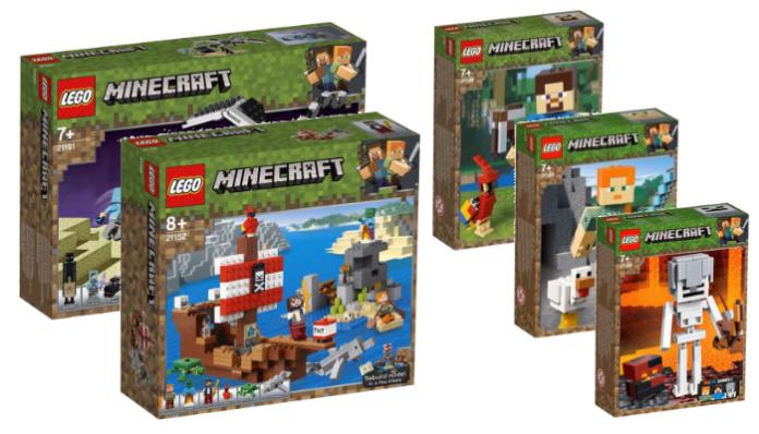 Visuals LEGO Minecraft 2019