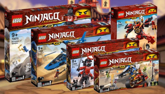 Visuals LEGO Ninjago 2019