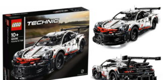 Visuals LEGO Technic 40296 Porsche 911 RSR