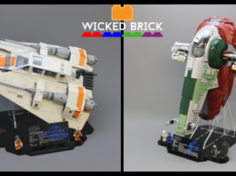 Wicked Brick Display Stand