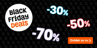 Black Friday sale tot 70% korting op LEGO