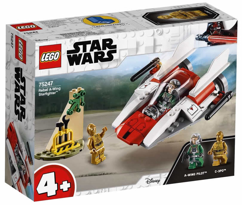 LEGO Star Wars 75247 Rebel A-Wing-Starfighter