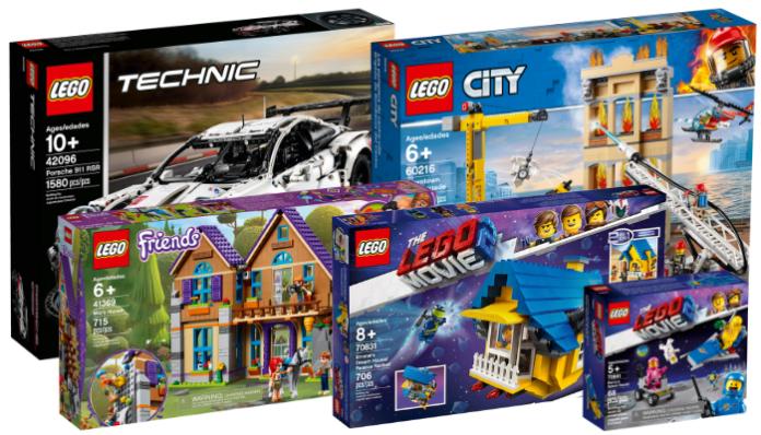 1e helft LEGO sets winter 2019 beschikbaar
