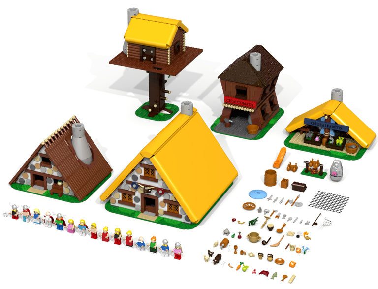 LEGO Ideas Asterix: The Gaulish Village