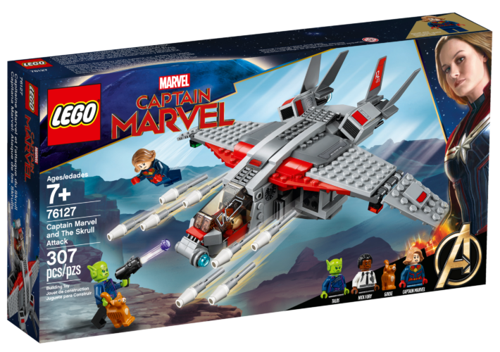 LEGO Marvel 76127 Captain Marvel and The Skrull Attack