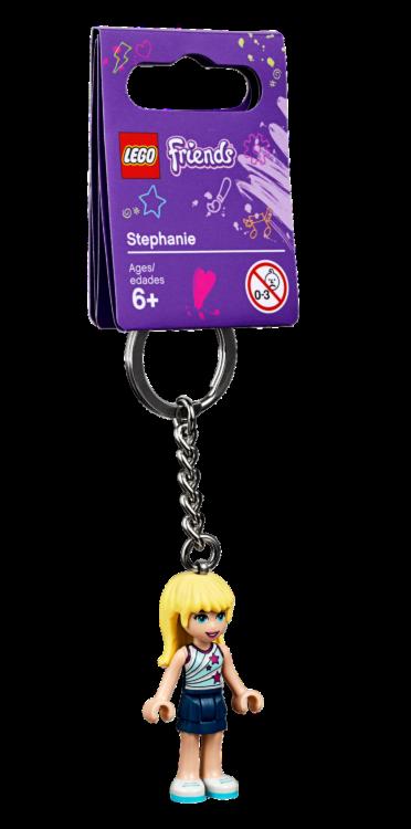 LEGO853882 Stephanie Sleutelhanger