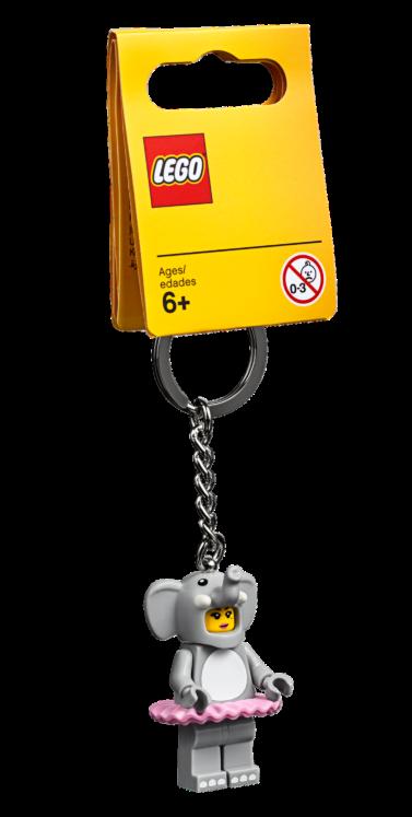 LEGO853905 Olifantenmeisje Sleutelhanger