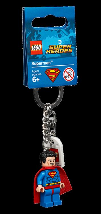 LEGO853952 Superman Sleutelhanger