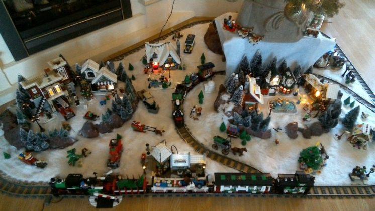 Anton-Jan Delker - kerstdorp