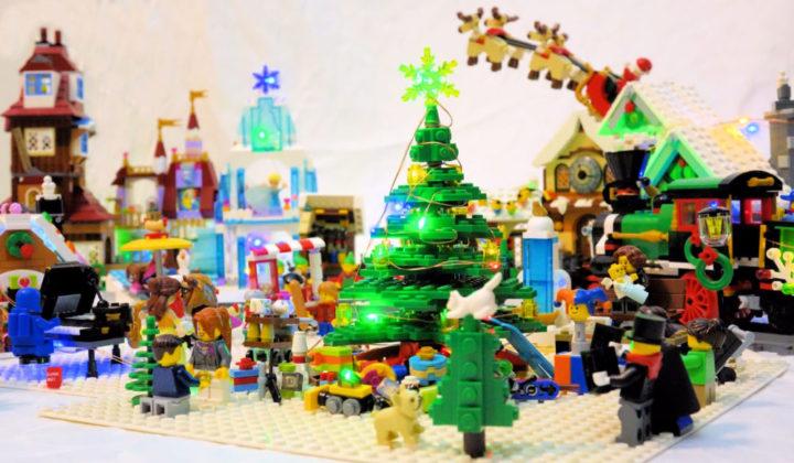 Bart Stolte - kerstdorp