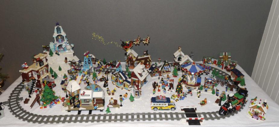 Bea Kolk - kerstdorp