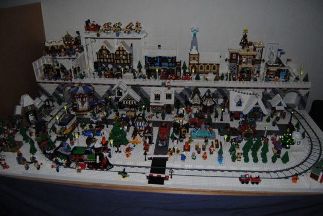 Floris Koene - kerstdorp