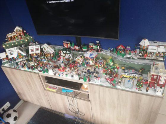 Frank Visser - kerstdorp