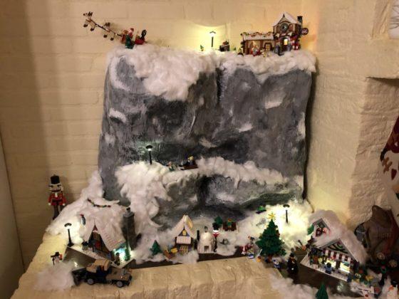 Jeroen en Fileine van Kuijk - kerstdorp