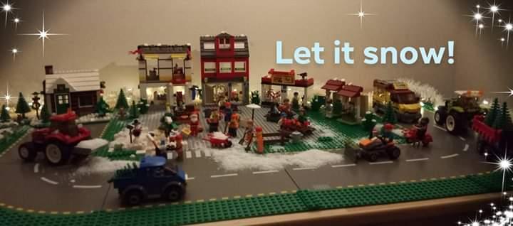 Justin Grooteboer - kerstdorp