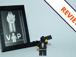 LEGO 5005747 Star Wars Black VIP Display Stand