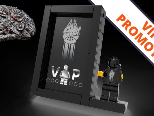 LEGO Black VIP Card Display promotie
