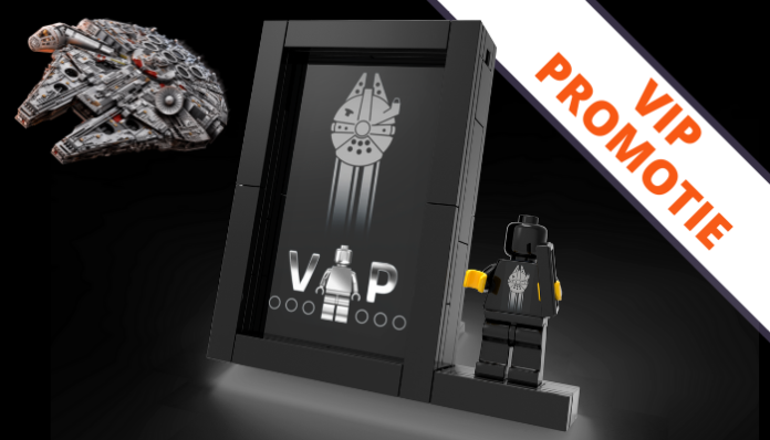 LEGO Black VIP Card Display promotie