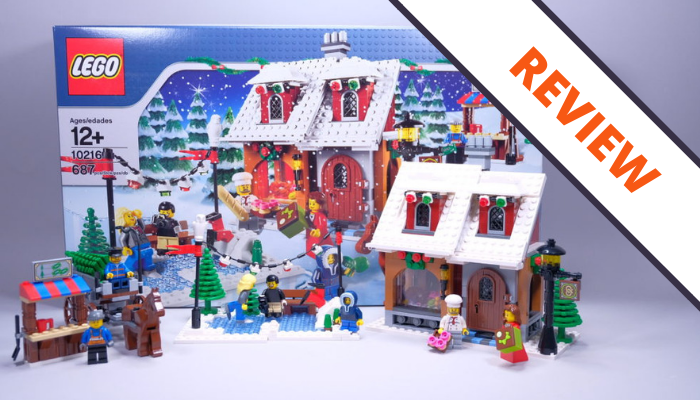 Review] LEGO Creator Expert 10216 Winter Village Bakery