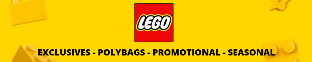 LEGO EXCLUSIVES - POLYBAGS - PROMOTIONAL - SEASONAL