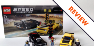 LEGO Speed Champions 75893 2018 Dodge Challenger SRT Demon & 1970 Dodge Charger R_T