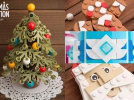 LEGO kerstballen en ornamenten door Chris McVeigh