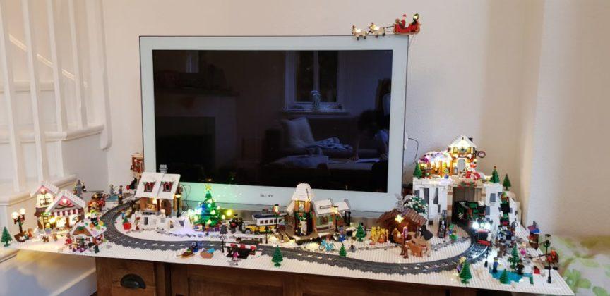 Leona van Duivenvoorde - kerstdorp