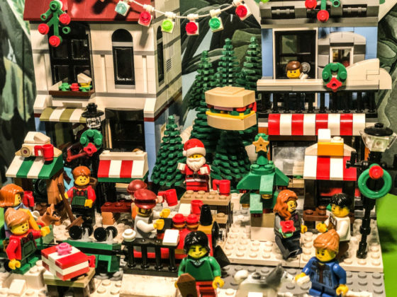 Mari Durieux - kerstdorp