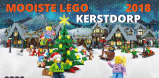Mooiste LEGO Kerstdorp 2018