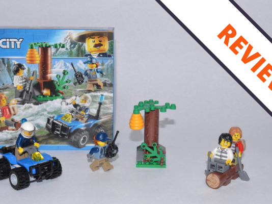 Review LEGO 60171 Mountain Fugitives