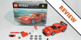 [Review] LEGO Speed Champions 75890 Ferrari F40 Competizione