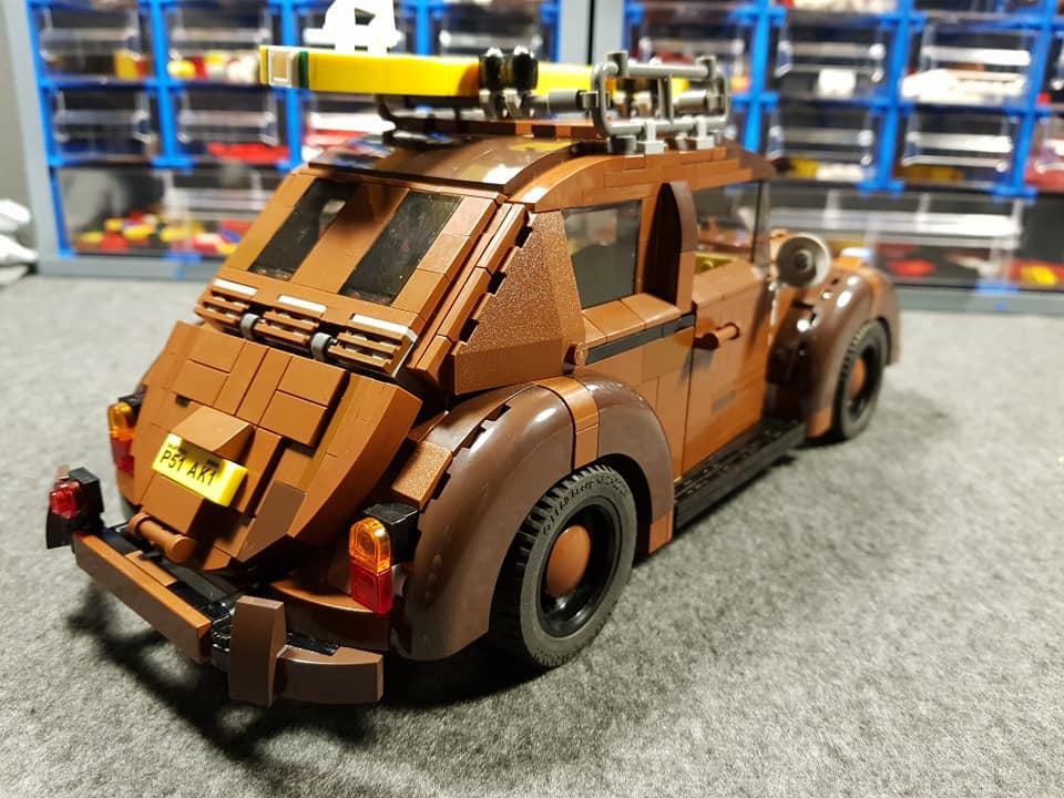 Roestige LEGO Beetle