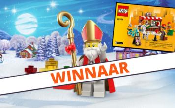 Winnaar LEGO 40358 Bean There Donut That